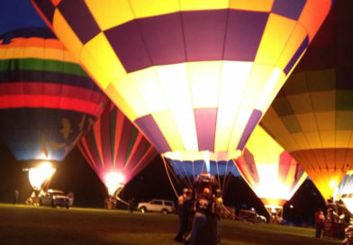 HOT AIR BALLOONS: PRECISE FLYING