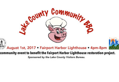 Lake County Visitors Bureau to stage Community BBQ to benefit Fairport Harbor Lighthouse restoration.