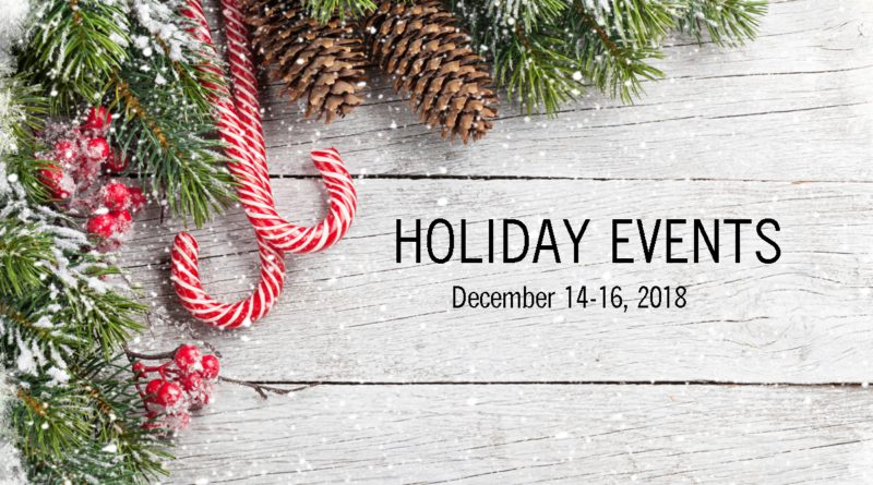Ohio Holiday Events – December 14-16, 2018