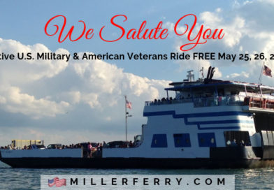 Miller Ferry Memorial Day Weekend Discounts for Active Military & Veterans